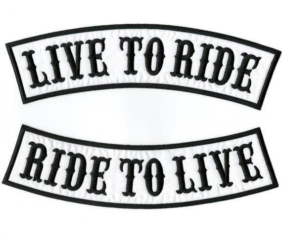 US NAVY VETERAN PATCHES ROCKRS SET 2 PC FOR MOTORCYCLE BIKER LEATHER VEST JACKET