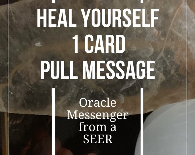 Healing Message and what does need to do.