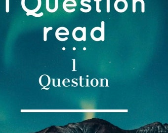 1 Question Same day psychic reading details tarot/intuitive Reading 24hrs reading Help