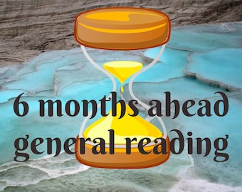6 months ahead general reading tarot reading 6 cards psychic empath reader future prediction tarot PDF