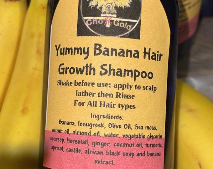 Banana Hair Growing Shampoo