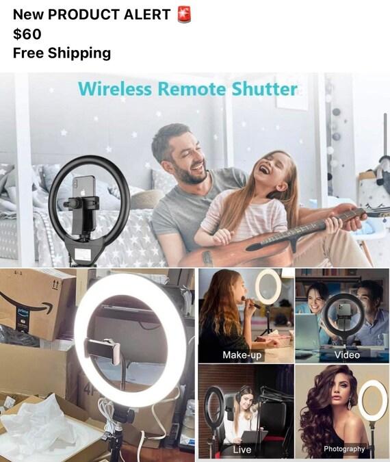 Wireless Remote Shutter Light Stand