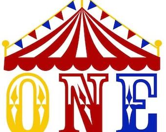 Circus Birthday Svg Etsy