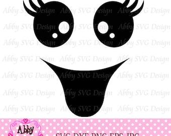Halloween SVG,Ghost Face svg, Ghost svg,Cricut cut file,Silhouette svg file