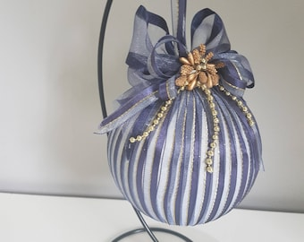 Christmas bauble in stand