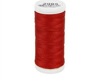 Sewing thread red lightweight textile DMC No. 2995