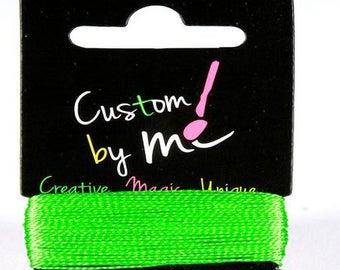 Wire neon green Custom By Me DMC
