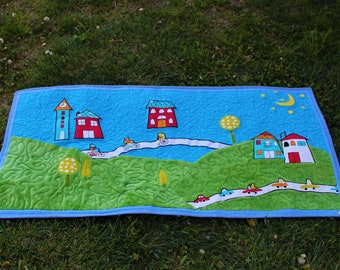 Roger Quilted Wall Hanging