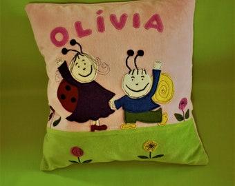 Cushion blanket child Olivia