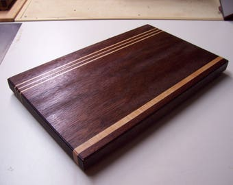 Mohogany and Maple Edge-grain Wooden Cutting Board