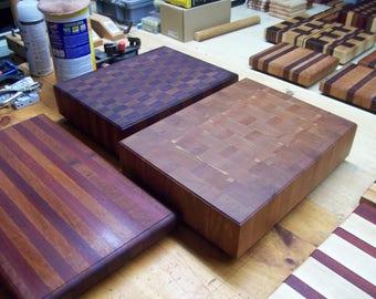 Custom Wooden Monster Cutting/Butcher Block Boards