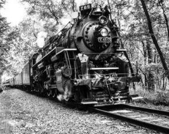 The steam engine 765