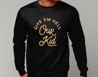 "Unisex ""Our Kid"" Sweatshirt Jumper Manchester Streetwear"