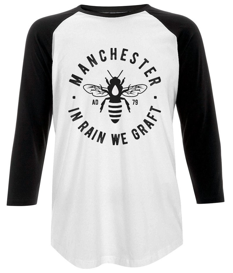 Unisex 'MCR Bee' Baseball T-Shirt image 0