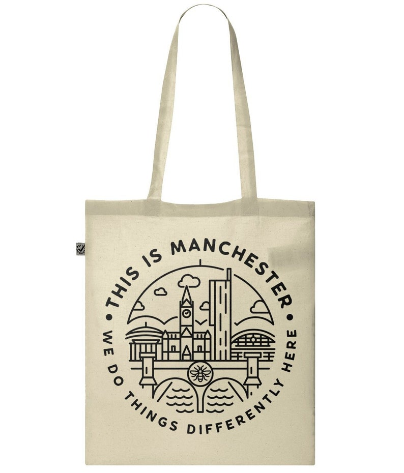 This Is Manchester Classic Cotton Tote Bag image 0