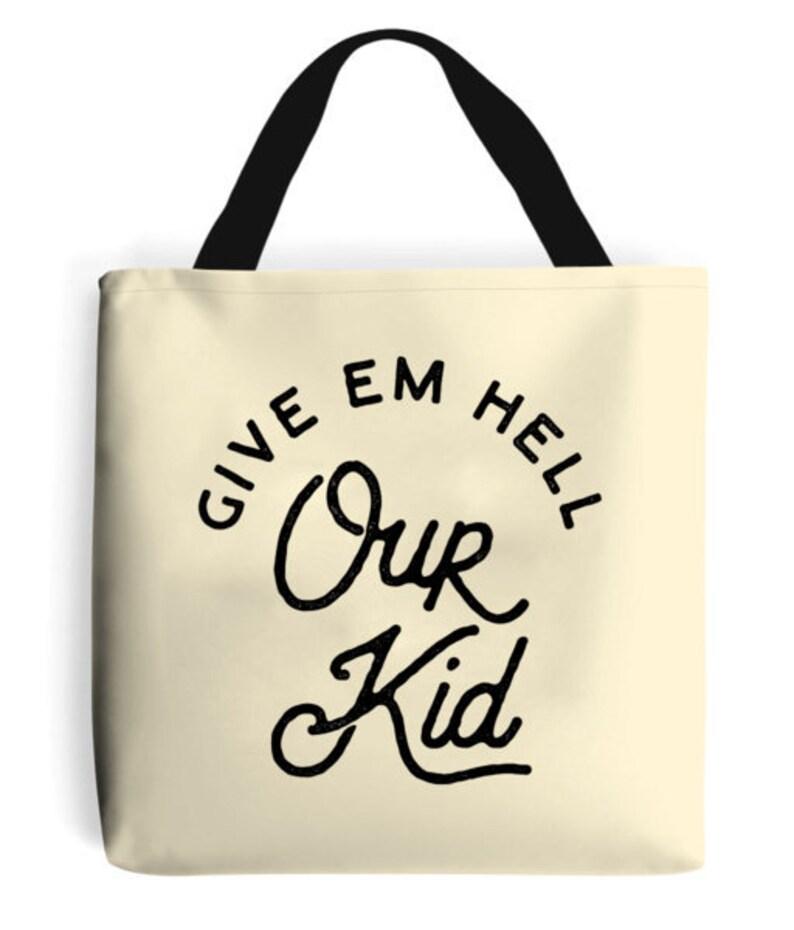 Our Kid Premium Cotton Manchester Souvenir Tote Bag Classic