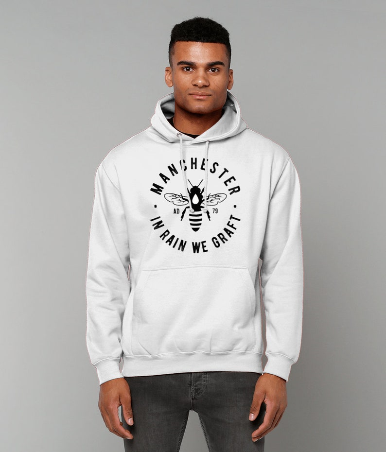 Unisex MCR BEE College Hoodie Sweatshirt Jumper image 0