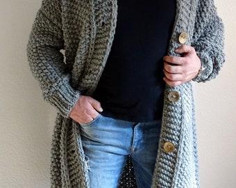 Long Sweater Coat Etsy