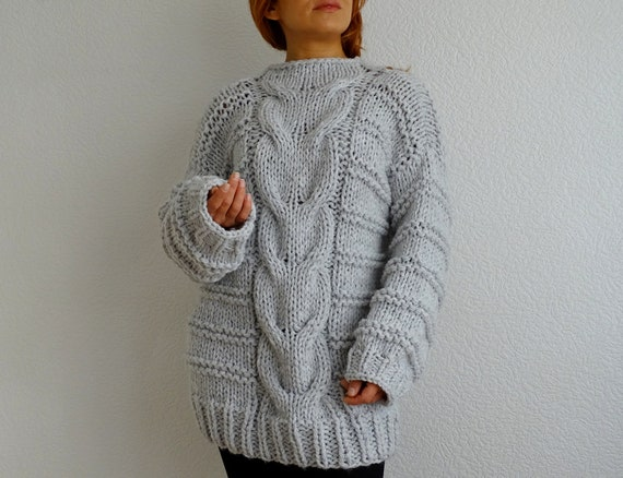 knit knit sweater bulky slouchy pullover long pullover sweater sweater sweater oversized sweater long braided jumper knit sweater dwqxOqrI