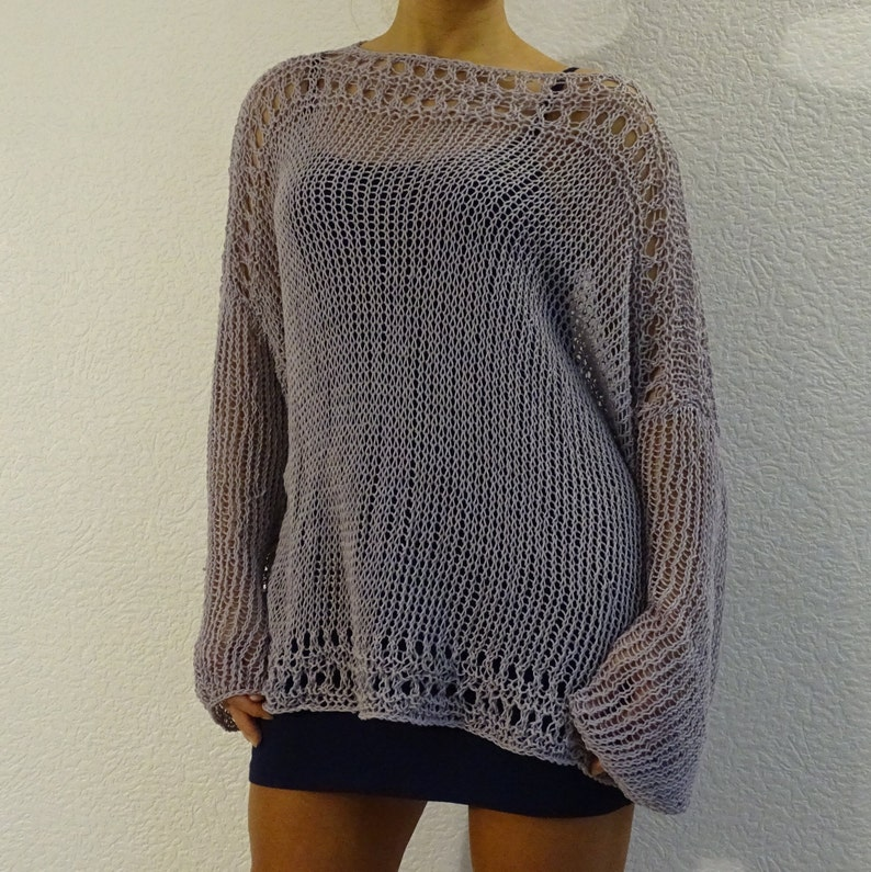 48df0317225115 Loose knit slouchy bohemain sweater oversized sweater