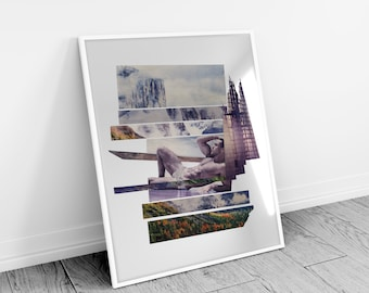 Alpine Recline - Limited Edition Glicee Print - Hannemuhle Pearl 285gsm