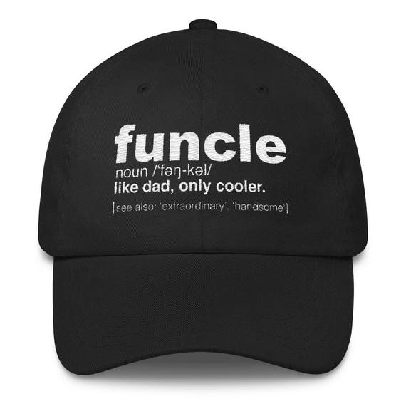 mens funcle definition cap proud gift for uncle