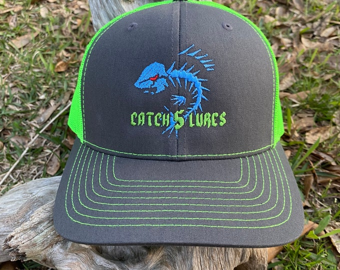 Catch 5 Lures Richardson Trucker Cap