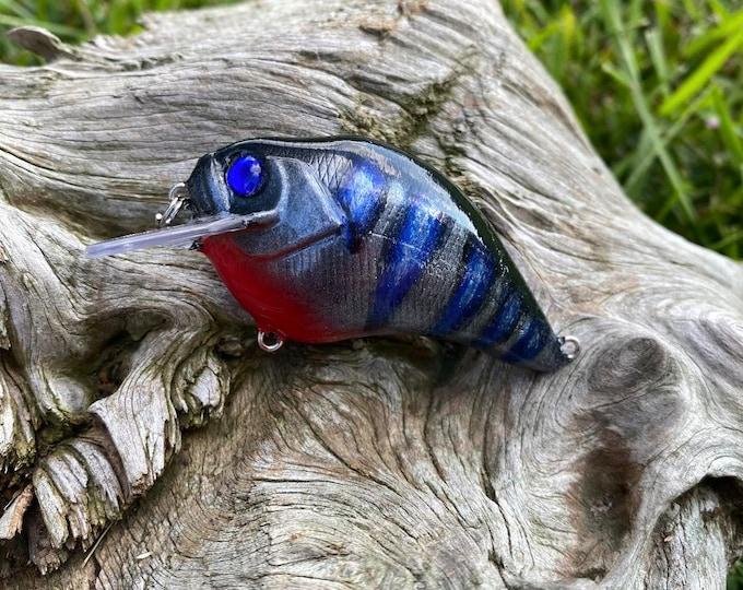 Custom Painted THUNDERSTRUK Shallow Diver Crankbait