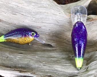 Custom Painted BAMA BUG 1.5 Shallow Diver Crankbait
