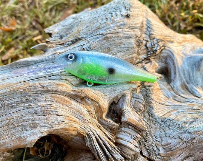Custom Painted INSTIGATOR Medium DIver Shad Crankbait
