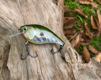 Custom Painted GYPSY Holographic Shallow Diver Crankbait