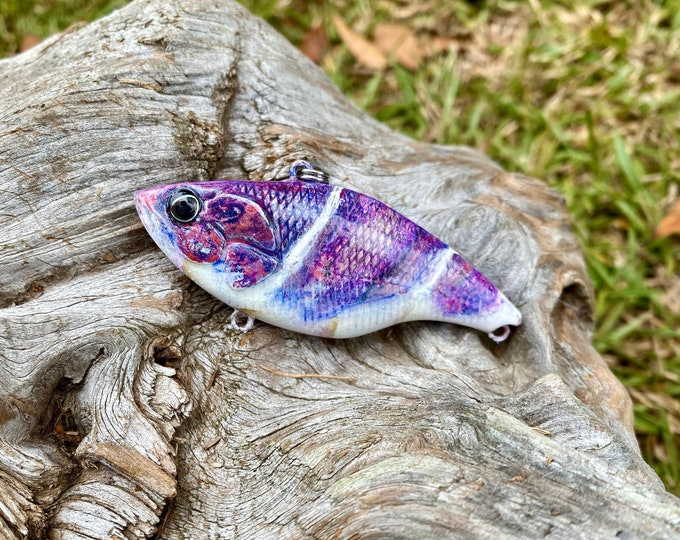 Custom Painted Graffiti Craw Wildstyle Lipless Fast Sinking Crankbait