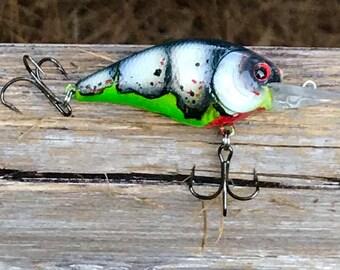 Custom Painted BREAUX DAD 1.5DD Medium Diver Crankbait