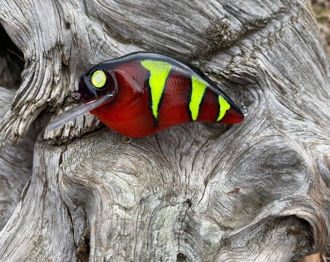 Custom Painted HIGH VOLTAGE Shallow Diver Crankbait