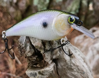 Custom Painted GYPSY Square Bill  Shallow Diver Crankbait