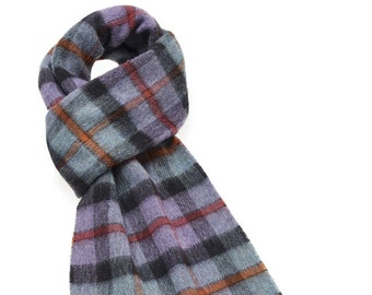 Elstow Thistle Scarf - Merino Lambswool - Made in England