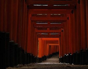 Fushimi Inari Shrine, Japan - Postcard Set of 5