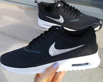Bling Swarovski Crystal Nike Air Max Thea Custom Women s Running Shoes c776f0d6c1
