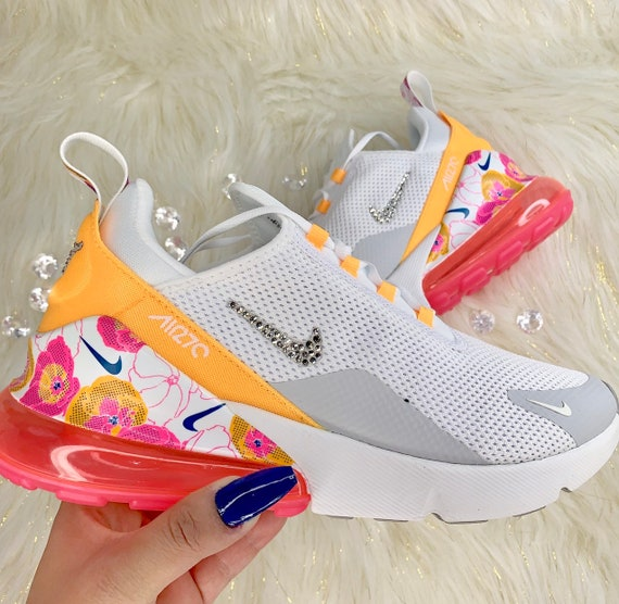 nett Custom Bright Flowers Nike Air Max 90 | Pumped Up Kicks