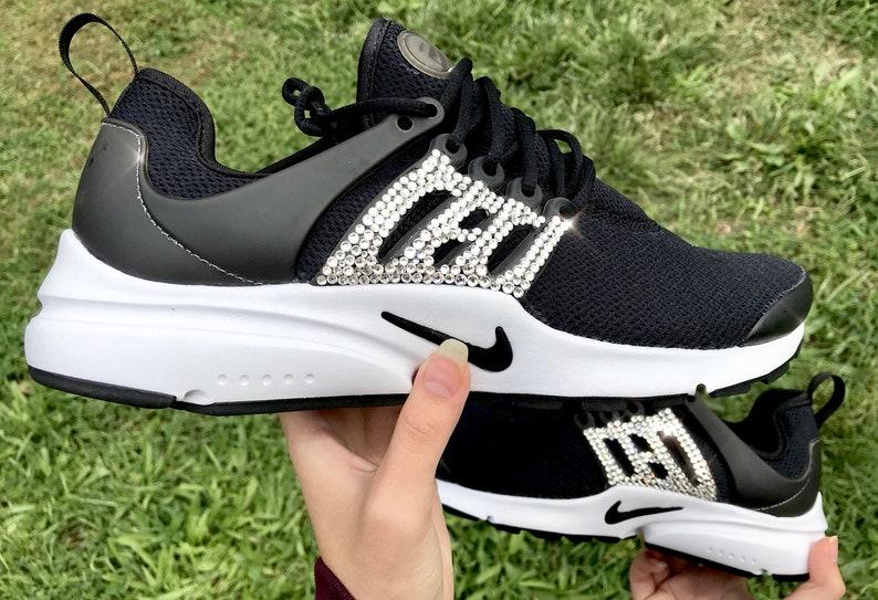 best sneakers 98ef2 393f4 Bling Nike Air Presto Swarovski Custom Women's Bling Kicks
