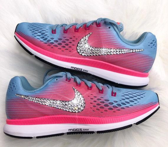 pour Nike Zoom Bling Swarovski 34 Nike Air femmes PEGASUS chaussures 8ww47Y
