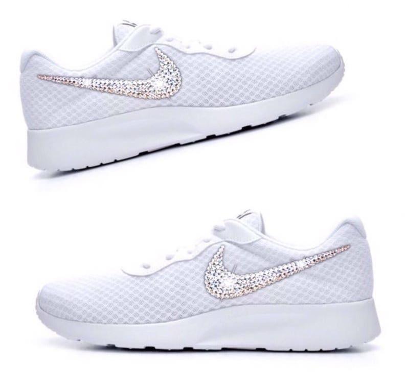 e47d1665f466 Bling nike tanjun women s custom nike shoes
