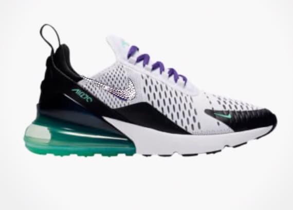 Bling Swarovski Crystal Nike Air Max 270 Women s Custom  31599ba60a
