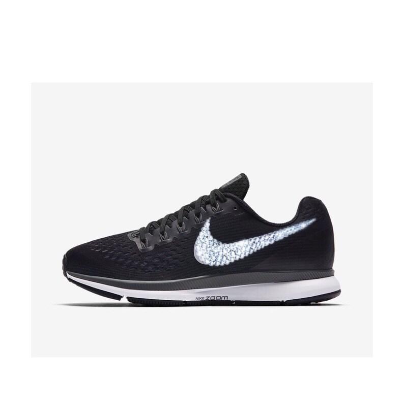 17057ea65054b Swarovski Crystal Nike Air Zoom PEGASUS 34 - Women's Nike Bling Shoes