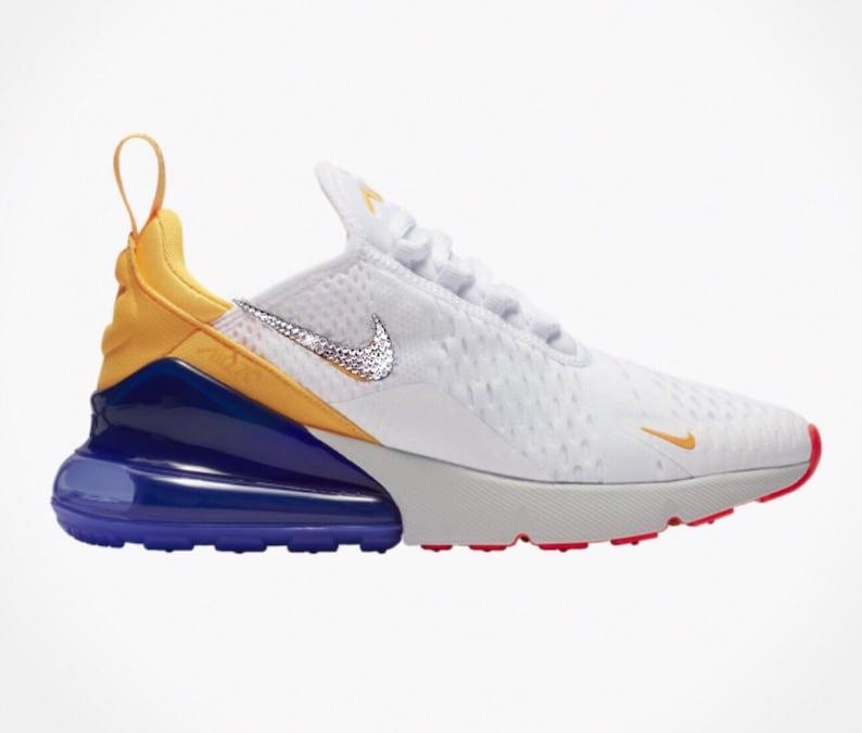Bling Swarovski Crystal Nike Air Max 270 Women s Custom  c4380ec0c5