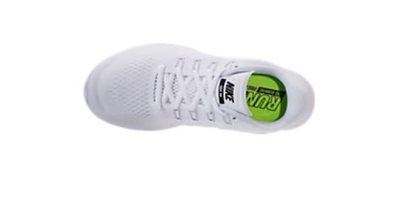 Swarovski 2017 Crystal Free White Sneakers Women's Nike Nikes Bling Bling Rn 5wqYSS