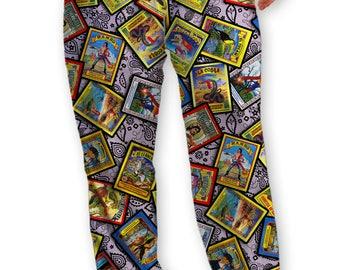Vintage Firecracker Lounge Pants Drawstring Pajama Bottoms