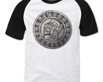 Maya Time Keeper Raglan sleeve T-shirt
