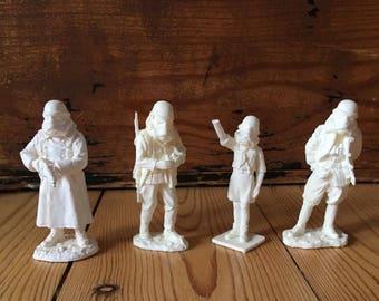 Troopers inférieures, fonderie en plastique