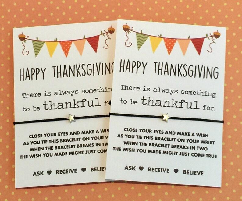 Thanksgiving gift Thanksgiving wish bracelet Thanksgiving wish sting Buy 5 get 1 free!!!